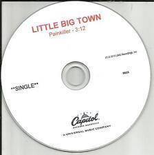 LITTLE BIG TOWN Painkiller LIMITED 2015 TST PRESS PROMO DJ CD single USA MINT