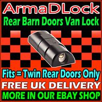 REAR DOORS VW Crafter High Security Van Hasp Padlock Lock ArmaDLock Arma D Lock