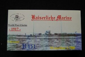 HP Models 1:700  WL   U-Kreuzer   U-151 der Kaiserlichen Marine -1917-