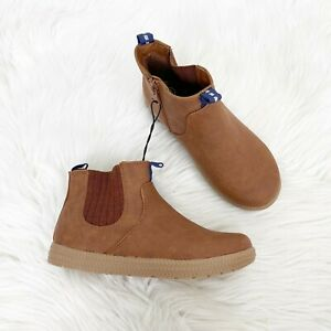 NEW Cat & Jack Toddler 12 Brown Chelsea Boots