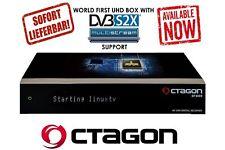 OCTAGON SF4008 4K UHD 2160p Linux E2 Receiver mit 2x Sat Tuner inkl 2TB HDD