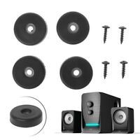 4 Pcs 40*10mm Speaker Isolation Spike Stand Feet Amplifier Shock Absorption Pad