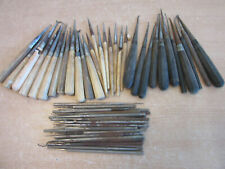 Large lot antique Dental tools with Bone, Wood and Metal handles