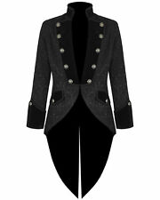 MENS MANS FROCK COAT WEDDING FANCY DRESS STUNNING QUALITY NEW STYLE JACKET.