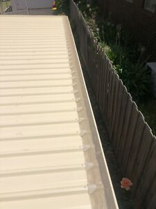 Poly Gutter Guard - Complete DIY Package to suit Metal Roof