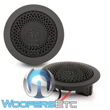 """MOREL MT-350 CAR AUDIO 1"""" 130W RMS HAND CRAFTED SOFT DOME COMPONENT TWEETERS NEW"""