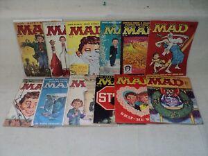 Mad 37-50 (miss.2bks) MAGAZINE SET 1958-1959 Lower-Grade EC Comics (m 635)
