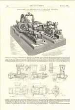 1895 Horizontal Hydraulic Pumping Engine Coalbrookdale