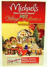Lemax 14445 CHRISTMAS VILLAGE 2011 PRODUCT BROCHURE Collectible Buildings New I