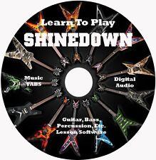 Shinedown Guitar TABS Lesson CD 65 Songs + Backing Tracks + Bonus