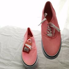 Mossimo Supply Women's Pink Denim sneakers Tennis Shoes Size 11 New With Tag