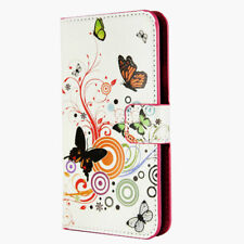 PU LEATHER FLIP WALLET PHONE CASE COVER FOR SAMSUNG GALAXY  S105G A10 A20E A70
