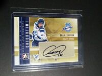 2011-12 ITG Heroes & Prospects Autograph #A-CH Charles Hudon Rookie Auto RC
