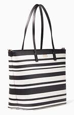 KATE SPADE Shore Street Margareta Baby Bag DiaperTote Black/White NWT