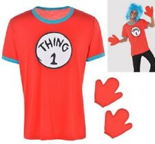 Dr. Seuss Adult Thing 1 & Thing 2 Accessory Kit - ADULT S/M  -NEW!!