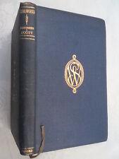 SIR WALTER SCOTT.KENILWORTH.ILLUSTRATED H/B 1912 OXFORD,GILT SCHOOL EMBLEM