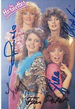 The Hornettes   Musik  Autogrammkarte original signiert 364625