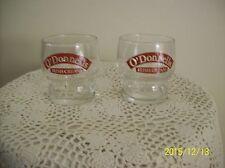 O'Donnells Irish Cream Rock Barware Glasses