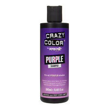 Crazy Color Shampoo For Coloured Hair 250ml Bottle - Colour Protect Purple Hair