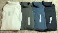 Men's Big&Tall Croft & Barrow Long-Sleeve Lightweight Easy-Care Turtlenecks, NWT
