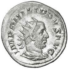 Filippo I Antoniniano in argento monete antiche romane Philip Antoninianus