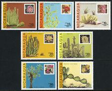 Nicaragua 1639-1645, MI 2800-2806, MNH. Cactus, 1987