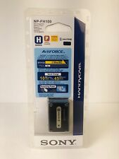 Sony NP-FH100 H Series Actiforce InfoLithium Battery for Sony Camcorder NOS