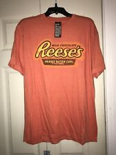 Reese's Milk Chocolate Peanut Butter Cups T-Shirt Size Xl  NWT New