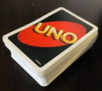 """Set of """"Uno"""" game cards"""