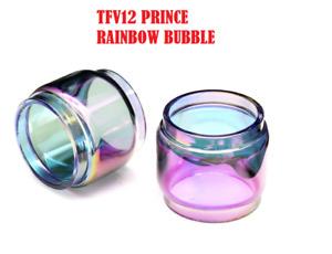 (2-Pack ) Smok TFV12 Prince Bubble / Fat Boy Glass Glass Rainbow