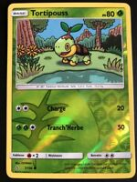 Carte Pokemon TORTIPOUSS 7/156 REVERSE Soleil et Lune 5 SL5 FR NEUF