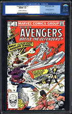 Avengers Annual #11 CGC 9.8 1982 Thor! Iron Man! Hulk! H7 401 cm