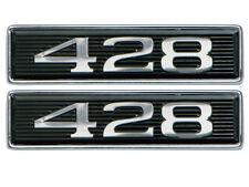 New 1969 Torino 428 Emblems Hood Scoop GT Ranchero Mustang LH RH Ford