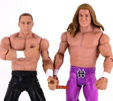 DX Lot WWE Mattel Basic Flexforce Action Figure Lot Shawn Michaels Triple H_s59