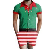 NWOT GETONFLEEK FOR WALMART ELF UGLY CHRISTMAS ROMPER COSTUME - Plus Size XXL