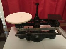 Detecto Scale #4 Black Vintage Pharmacy, Candy Store Scale Weights And Measures