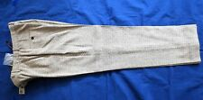 DKNY WOMEN'S BROWN HERRINGBONE PANTS-NEW--WITH TAG-SIZE 4