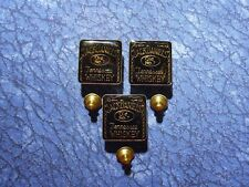 3 Jack Daniels Old No. 7 Tennessee Whiskey Lapel/Hat Pin Tie Tacks