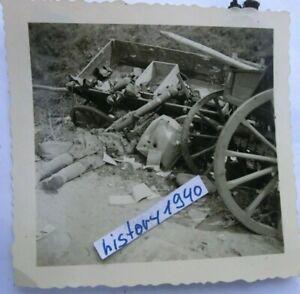 Foto KARMELAVA - LITAUEN Spuren des Krieges.