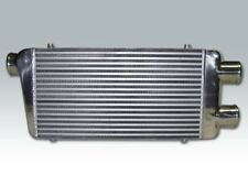 "New 32""x12""x3"" Bar&Plate Twin Turbo Front Mount Intercooler Universal Aluminum"