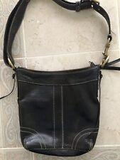 Coach Leather Bag - Black