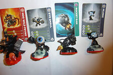 4x Skylanders Trap Team figures Hog Wild Fryno Carrera Eye Small RAM wii ps3 xbox