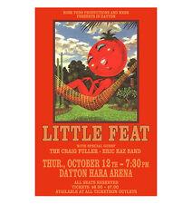 Little Feat 1978 Dayton Concert Poster
