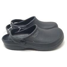 Skechers Bobs Croc Shoes Girls Boys Unisex Size 3 Black (33U)