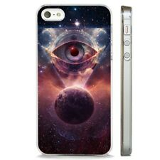 All Seeing Eye Cosmic Power CLEAR PHONE CASE COVER fits iPHONE 5 6 7 8 X