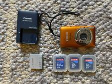Canon PowerShot ELPH 100 HS / IXUS 115 HS 12.1MP Digital Camera - Orange