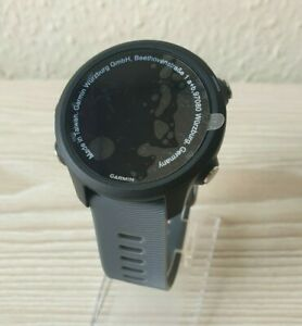 Garmin Forerunner 245   GPS Running Smartwatch   Slate Grey