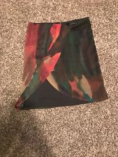 Isda & Co. Green Skirt 100% Polyester Lined Size 12