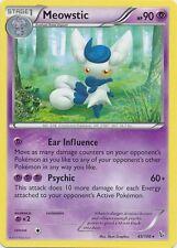2X Meowstic /106 XY Flashfire RARE MINT! Pokemon