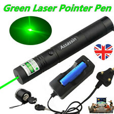 More details for 990miles assassin green laser pointer pen 532nm <1mw astronomy lazer+charger